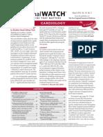 Journal Watch Cardiology 1003