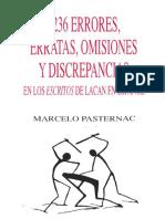 1236 errores, erratas, omisiones y discrepancias. Marcelo Pasternac.pdf