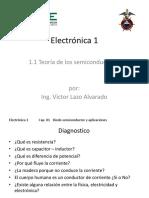 Electronica 1 Cap 01 - 01 Teoria de Los Semiconductores