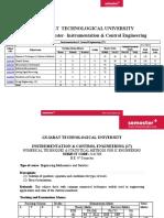 Be Instrumentation Control Engg 4th Semester Syllabus