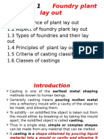 Ch 1-Foundry Plant Lay Out