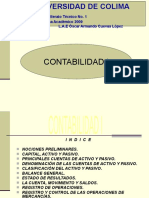 CONTABILIDAD I  (Balance General)