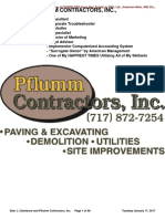 Stan J. Caterbone, Controller of Pflumm Contractors, Inc., 1993 to 1998 January 17, 2017