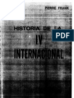 Pierre Frank. La historia de la Cuarta Internacional. La larga marcha.