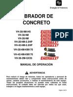 VH 45 4M 160 (Manual de Operacion)