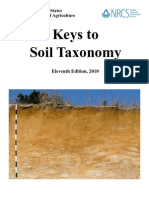 Keys to soil taxonomy 11ºedic 2010 USDA