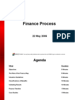 Finance Process Sample Presentation