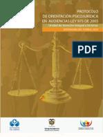 Libro Protocolo de Atencion Psicojuridica