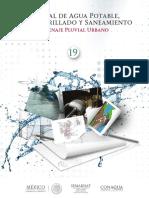 manual de agua potable, alcantarillado y saneamiento, Drenaje pluvial urbano