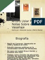 Arturo Uslar Pietri Notas Sobre El Vasallaje