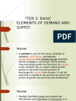 Chapter 2- Basic Elements of Demand and Supply