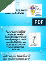 7 Test Persona Bajo La Lluvia