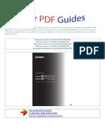 Manual Do Usuário YAMAHA PSR S900 S700 P