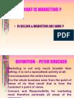 Marketing and Customer Service