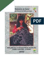 Análisis de La Situación de Salud Del Pueblo Shipibo-Konibo
