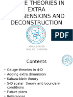 Gauge Theories in Extra Dimensions and Deconstruction