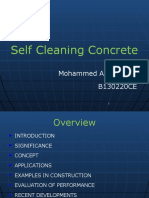 Self Cleaning Concrete