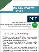 Arus Gen Dan Genetic Drift
