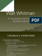 Walt Whitman y el nacimiento de la lírica estadounidense