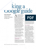 Making a Google guide