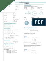 Stewart Cálculo Formulario