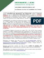 Carta Contribuição Sindical SINTEST CE
