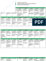 2010 PASCD Small Groups Presentation Schedule