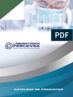 Catálogo de Productos Laboratorios Fercevsa
