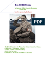 A3 Development of Dictatorship Germany 1918-1945