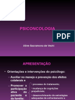 Aula Psico-Oncologia