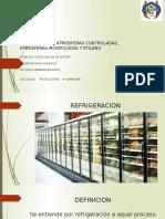 Refrigeracion, Atmosfera Controlada y Modificada y Etileno. Salvador