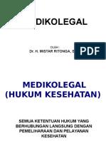1. Medikolegal 1 HUKUM Kesehatan (MR)