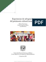 Experiencias de Salvaguardia Del Patrimonio Cultural Inmaterial