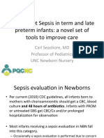 PQCNC ASNS LS1 Early Onset Sepsis in term and late term infants