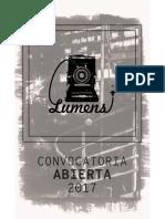 Convocatoria Lumens 2017