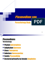 plasmodium 132, epiddiagnostik