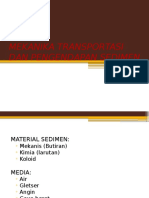 8. Mekanika Transportasi Dan Pengendapan Sedimen
