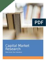 Capital market research / penelitian pasar modal