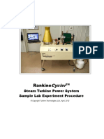 Rankin Cycle r Sample Lab
