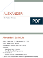 russian presentation alexander i