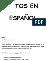 Retos en Español
