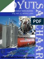 Vidyut Sanchaar Electrical & Electronics Department Magazine April 2014 NIT Arunachal Pradesh