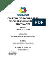 Colegio de Bachilleres de Chiapas Plantel 13 Tuxtla