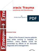 Ppt Trauma Thoraks