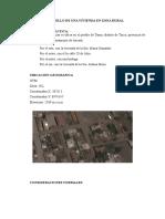 Arquitectura 1er Informe Diseño Vivienda Rural