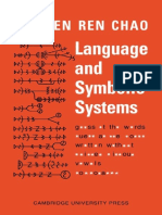 Language and Symbolic Systems - Yuen Ren Chao.pdf