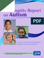 Community Report Autism