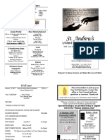 St Andrews Bulletin 0115