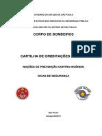 Noção de Prevenção contra Incêndios - Corpo de Bombeiros de São Paulo.pdf