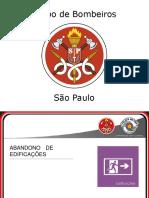 Slides - Abandono de Edificações - Corpo de Bombeiros de São Paulo.pdf